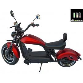 Scuter electric Scootico E6.2KW/45 - Roșu