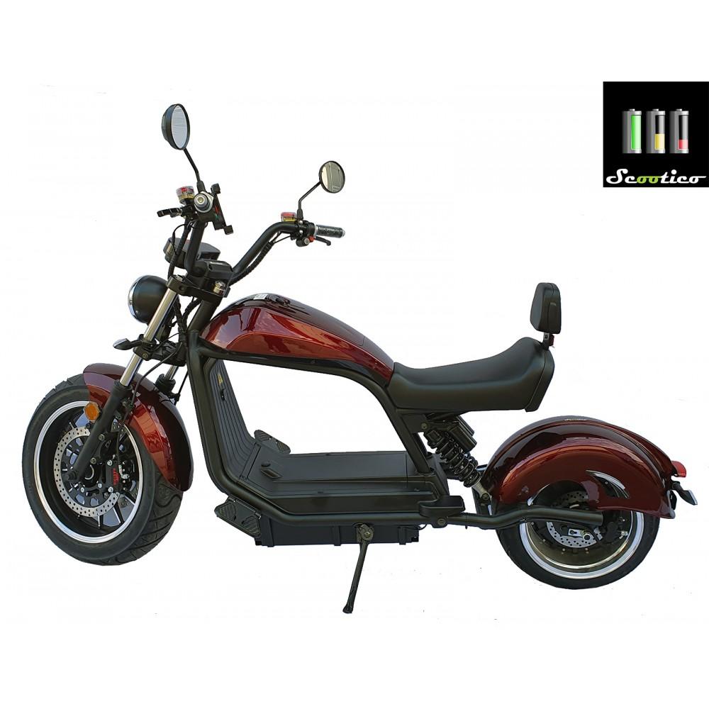 Scuter electric Scootico E6.2KW/45 - Vișiniu