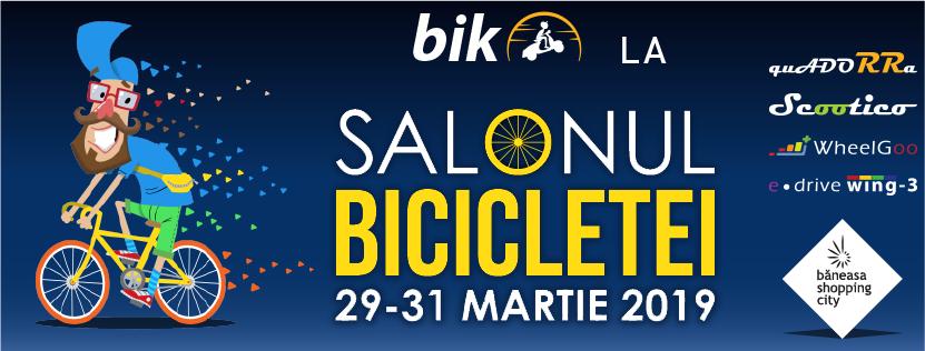 Salonul bicicletei martie 2019